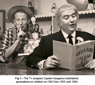 "Bob Keeshan entertained generations of youngsters as TV's favorite ""Captain Kangaroo""."